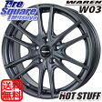 HotStuff WAREN W03 15 X 6 +43 5穴 114.3TOYOTIRES TRANPATH MPZ (数量限定) 195/70R15