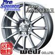 WEDS ジョーカーマスター2 18 X 7.5 +38 5穴 114.3ブリヂストン ブリザック VRX 245/45R18