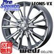 WEDS Leonis_VX 15 X 6 +43 4穴 100KENDA ICETEC NEO KR36 2015年製 185/65R15