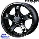 BF Goodrich ALL Terrain T/A ko2 225/70R16WEDS キーラーフォース CAP付 16 X 7 +38 5穴 114.3