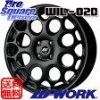 WORK WIL-02D 17 X 7 +26 4穴 108ブリヂストン REVO GZ 15年製 225/50R17