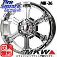 MKW MK-36 20 X 8.5 +22 6穴 139.7YOKOHAMA GEOLANDAR I/T-S G073 265/50R20