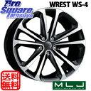 MLJ WREST_WS-4 19 X 8 +38 5穴 114.3ピレリ P ZERO NERO GT 245/40R19