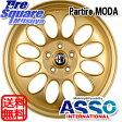 ASSO PartireMODA 16 X 7 +40 5穴 98ブリヂストン REVO GZ 15年製 205/55R16