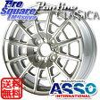 ASSO Partire Classica 14 X 6 +33 4穴 98ブリヂストン REVO GZ 2016年製 175/65R14