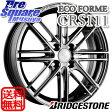 ブリヂストン エコフォルム_CRS111 15 X 5.5 +38 4穴 100ピレリ ICE ASIMMETRICO 185/60R15