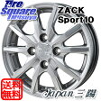 Japan三陽 ZACK_Sport10 15 X 5.5 +43 4穴 100TOYOTIRES TRANPATH MPZ (数量限定) 195/60R15