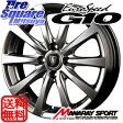 MANARAY EUROSPEED_G10 14 X 5.5 +45 4穴 100ブリヂストン REVO GZ 15年製 175/70R14