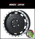 14インチハイブロック バレックス 14×4.5 ET45 Blackハスラー、ウェイク、キャストアクティバ、軽トラック など マッドスター 165/65R14 新品タイヤホイールセット4本価格