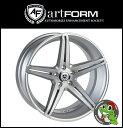 20インチホイール単品artFORM AF301(アートフォルム) 20×10.5J 5/120 +35 HUB:72.6Φ ブラッシュド/マットシルバーBMW /F10/F12/F01/E92 M3 ※リア用 など 新品アルミホイール1本価格JWL規格適合品