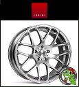 19インチ【Ispiri Wheel ISR1】19×9.5J 5/112 +35 HUB:66.56φ【Diamond Silver(ダイヤモンドシルバー)】【1995】【イスピリホイール】【新品アルミホイール1本価格】正規輸入品【JWL適合品】【スタンス】Audi A4、A6