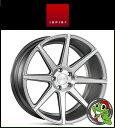 19インチ【Ispiri Wheel ISR8】19×9.5J 5/120 +43 HUB:72.56φ/74.1φ【Satin Silver Machined(サテンシルバーマシン)】【1995】【イスピリホイール】【新品アルミホイール1本価格】正規輸入品【JWL適合品】【スタンス】BMW E90/91/92/F30/F31