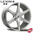 20インチ LEXANI(レクサーニ) R-Six(R-6) 20×8.5J&10.0J シルバーメルセデスベンツ CLSクラス W219 ナンカン NS2 新品タイヤホイール4本セット価格 Black Label(ブラックレーベル)