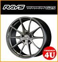 19インチ【RAYS VOLK Racing G25】19×8.5J 5/120 +36 HUB:72.6Φ【ND(マーキュリーシルバー2/リムエッジDC)】【レイズ ボルクレーシング】【鍛造】【新品アルミホイール1本価格】BMW 3シリーズ(E90・E91・E92・F30)