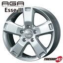 17インチ 新品 AGA Esse2 エッセ2 1775 17x7.5 5/114.3 INSET45 FORD フォード エクスプローラー 05〜 1台分で送料無料
