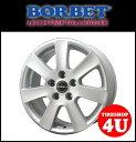 14インチ 新品 BORBET ボルベット タイプCA 1460 14x6.0 4/98 INSET38 FIAT フィアット アルファロメオ 1台分で送料無料