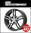 新品アルミホイール1本価格 16インチSPORTTECHNIC MONO5 VISION 16×7.0J 5/120 +31 HUB:72.6φテーパー座 ガンメタポリッシュ スポーツテクニック モノ5ヴィジョン BMW