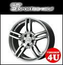 新品アルミホイール1本価格 18インチSPORTTECHNIC MONO5 VISION 18×7.5J 4/100 +48 HUB:73.1φテーパー座 (ハブリング対応)クロームシルバー スポーツテクニック モノ5ヴィジョン MINI