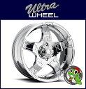 【新品アルミホイール単品1本価格】18インチ【ULTRA WHEEL Type-193/194 DRIFTER】18×9.0J 6/139.7+12【Chrome】【ウルトラホイール ドリフター】【FJクルーザー、タコマ、ハイラックスサーフ、プラド、GM系SUV など】