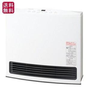 大阪ガス ノーリツ ガスファンヒーター クリーン ホワイト コンクリート
