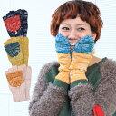 2トーン2WAY手袋 ZCWC-BD-7147/チチカカ公式 TITICACA エスニック アジアン