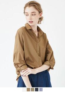 ドロップショルダービックシャツ