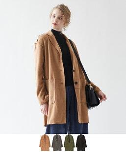 オーバーシルエットジャケットコート