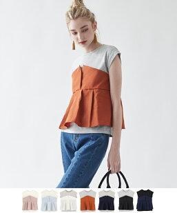 タックフレアビスチェドッキングTシャツ
