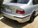 BMW E36 E36 M3 E39 E39 M5 セダン純正色塗装済 ウレタン製トランクスポイラー/チタンシルバー#354/エアロパーツ/リアリップスポイラー 送料無料【___OCS】