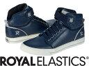 【メーカーお取り寄せ商品】Royal Elastics MEDIO Male Navy Blue size:26.5 【ロイヤルエラスティクス MEDIO】 メンズ スニーカー 靴 /ネイビー/サイズ26.5【___OCS】