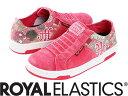 【メーカーお取り寄せ商品】Royal Elastics ICON WASHED Female Pink size:23.5 【ロイヤルエラスティクス ICON WASHED】 レディース スニーカー 靴 /ピンク/サイズ23.5【___OCS】
