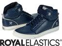 【メーカーお取り寄せ商品】Royal Elastics MEDIO WEDGE Female Navy Blue size:23.5 【ロイヤルエラスティクス MEDIO WEDGE】 レディース スニーカー 靴 /ネイビー/サイズ23.5【___OCS】