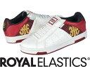 【メーカーお取り寄せ商品】Royal Elastics ICON ALPHA 【ロイヤルエラスティクス ICON ALPHA】 メンズ スニーカー 靴 /赤+白/サイズ27【___OCS】
