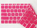アップルMacbook Air 11インチシリコンUSキーボードカバー/ピンク【02P22Jul14】【S.Pack】
