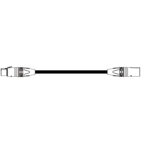 BELDEN EC-1776-B XLRケーブル カナレ (XLR3ピンメス-XLR3ピンオス キャノン NC3FXX-B - NC3MXX-B) アンテナ 30m:エムワンチヨトク