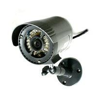 屋外設置対応・赤外線LED投後器内蔵監視カメラIRC-606N
