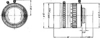 八雲(YAKUMO)大口径F0.95単焦点レンズ(C-mount)YMV2595N