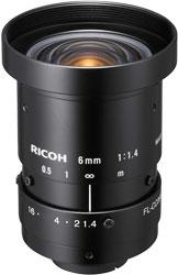 "CCTVレンズ RICOH FL-CC0614A-2M 焦点距離 6mm 2/3""型C"