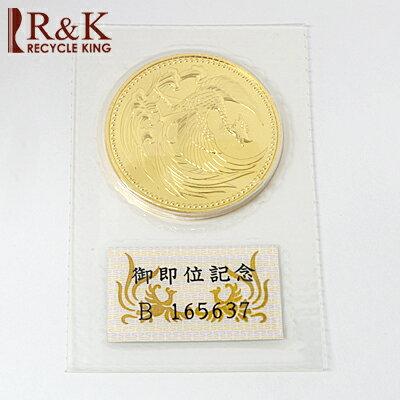 【中古】K24 天皇陛下御即位記念金貨(純金)10万円 平成2年 24金【送料無料】【RCP】【smtb-m】