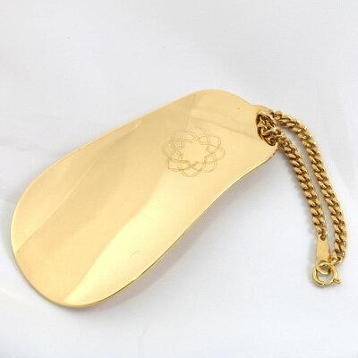 【送料無料】【中古】K18 靴べら キヘイチェーン 18金 黄金展