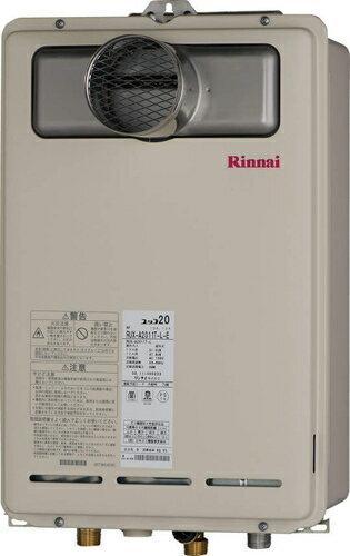 【RUX-A1610T-L-E】 《TKF》 リンナイ ガス給湯器 16号 給湯専用 給湯給水接続15Aタイプ PS扉内設置/PS延長前排気型  ωβ0 送料無料ひろい