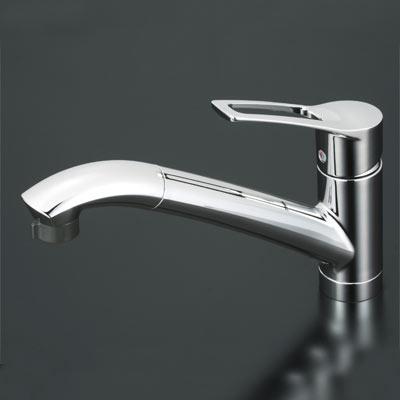 【ZZKM5031TCLE】 《TKF》 KVK製 シングルレバー式シャワー付混合栓 ( KM5031T類似品) ωζ0 【?高い】