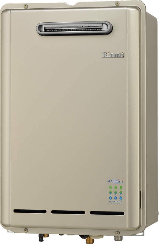 【RUX-E2010W】 《TKF》 リンナイ 給湯専用給湯器 エコジョーズ 20号屋外壁掛型 〔新品〕 ωα0:住宅設備機器 オンライン tkfront