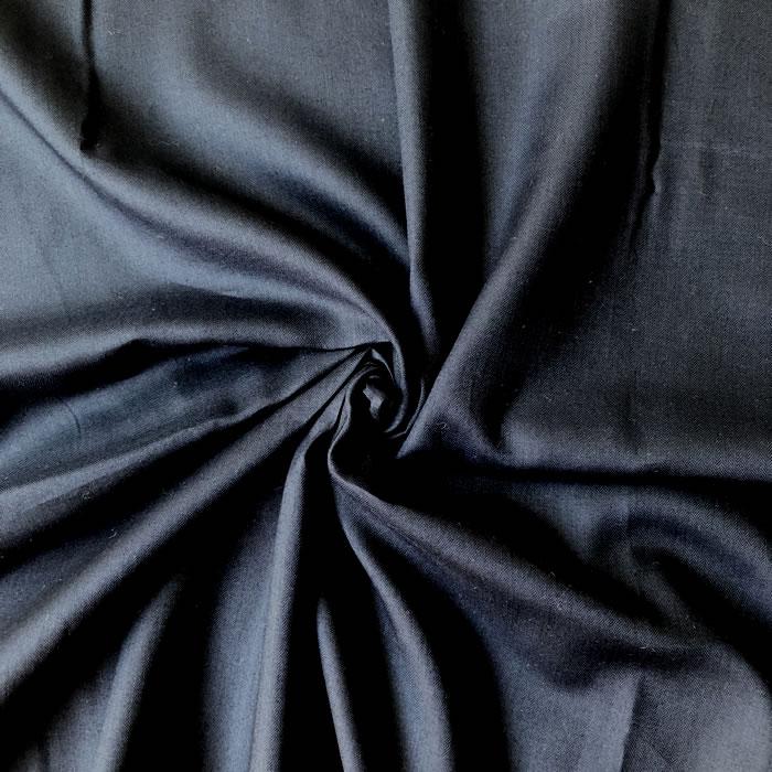 【生地・布】ネイビー 綿ローン ヘリンボン織り 無地 国産 ブラウス シャツ ワンピース 婦人 子供 小物 手芸 雑貨 インテリア 激安 セール(h-1704)