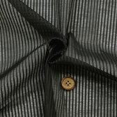 【生地・布 ファッション】黒 綿 ドビー サテン ストライプ 無地 国産 シャツ ブラウス 婦人服 子供服 紳士服 手芸 小物 雑貨 インテリア 激安セール(h-1318)02P01Oct16