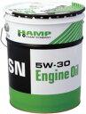 【同梱不可】ホンダ HAMPエンジンオイル SN 5W-30 20L缶