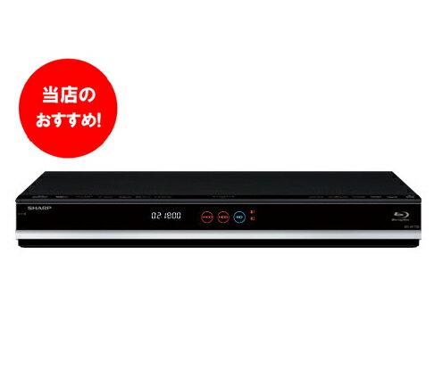 1TB シャープ「2番組同時録画」3Dアクオスブルーレイ BD-W1800