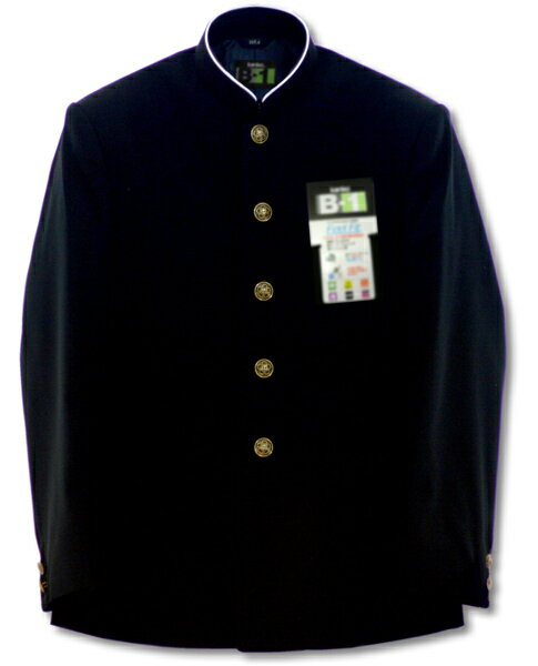 【学生服】カンコー最高級B-1サージ標準[サイズ:150B〜160B]