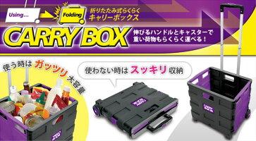 【新品】ピーナッツクラブ 折り畳み式らくらくキャリーボックス 小サイズ KA-00282