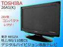 サマーSALE!【中古】TOSHIBA 東芝26V型 地上・BS・110度CSデジタルハイビジョン液晶テレビREGZA レグザ ブラック26A1(K)2010年製【日…